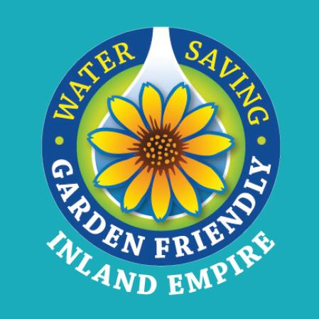Water Saving, Garden Friendly, Inland Empire logo.