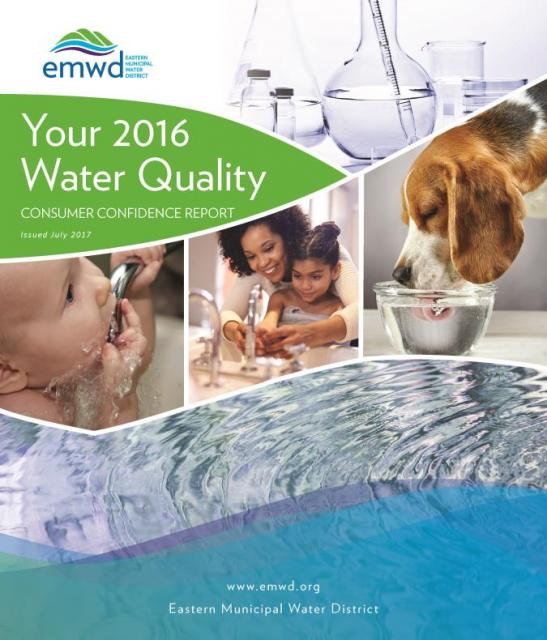Your 2016 water quality consumer confidence report.