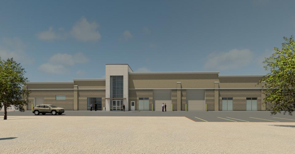 Perris II Reverse Osmosis Treatment Facility rendering.