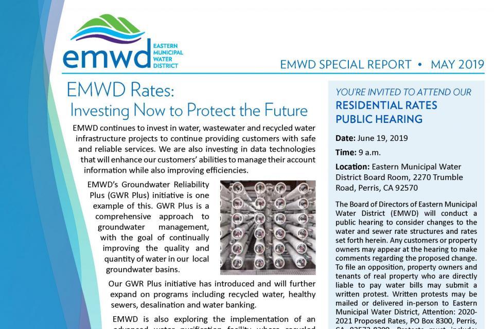Eastern Municipal Water District - EMWD